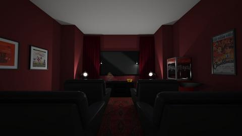 Movie room - by BlobbyFish
