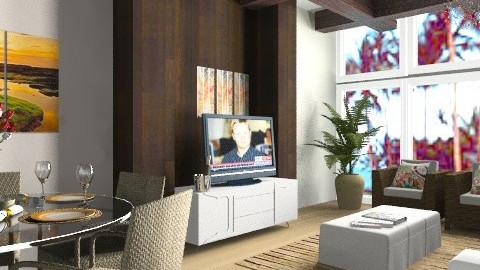 Beach Loft - Modern - Living room - by TManha