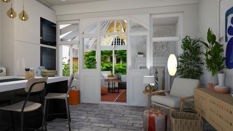 conservatory  - Kitchen - by hollygilder