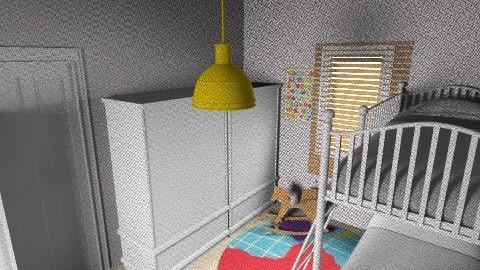 Lia_Itay_80 - Classic - Kids room  - by noga boyarsky
