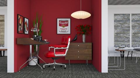 Mid Century Office Cubicle - Vintage - Office  - by HenkRetro1960