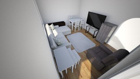 oda - Living room - by ersan1987
