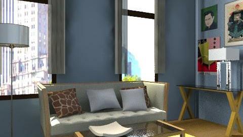 The View - Retro - Living room  - by retrodesigner