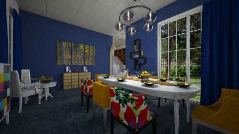 colouring room - by Yulita Riauwaty