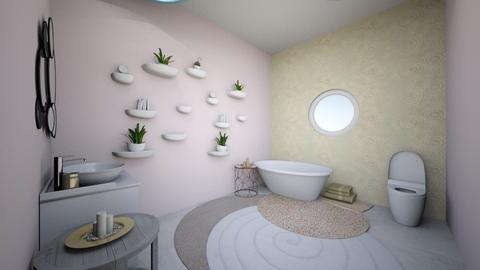 Circle Bathroom - Bathroom  - by Kyra2005