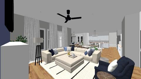 Arnett Smith room 5 - Living room  - by whitwhit317