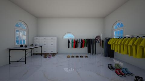 Walk in closet - by Hafsabashir