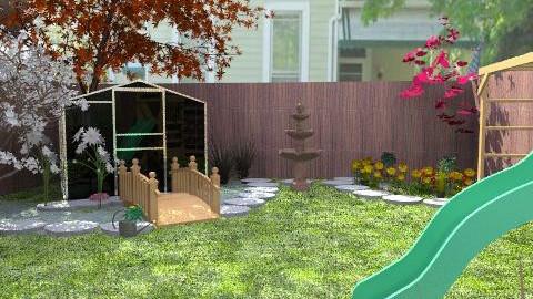 New Back Yard - Modern - Garden  - by natural11