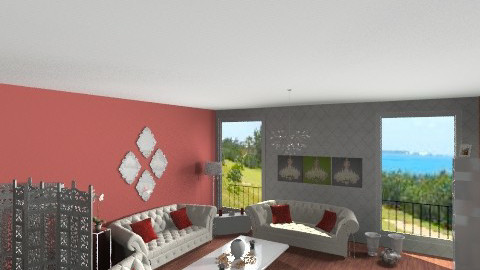 Livingroom - Glamour - Living room  - by hevaxan