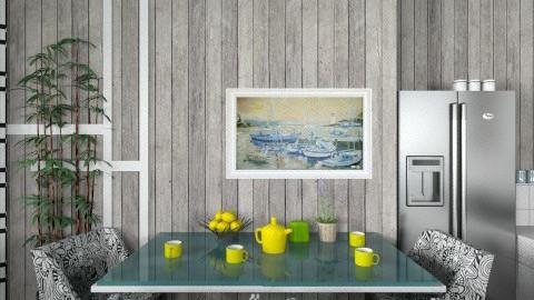 GWK4 - Modern - Kitchen  - by milyca8