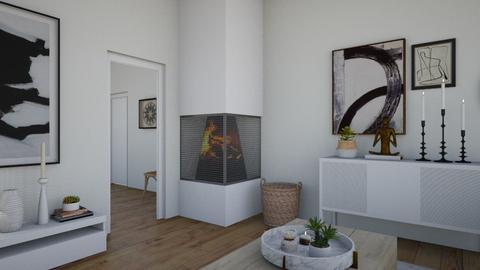 Jolie 1 - Eclectic - Living room - by Jacqueline De la Guia