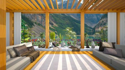 relax garden - Rustic - Garden  - by Joseph Espinoza
