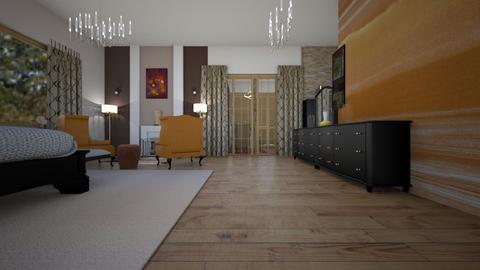 Powell Master 01 - Vintage - Bedroom  - by decordiva1