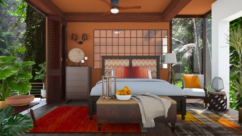 Nature - Bedroom - by Tooley