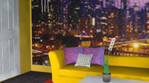 new york ny - Modern - Living room  - by color_lover