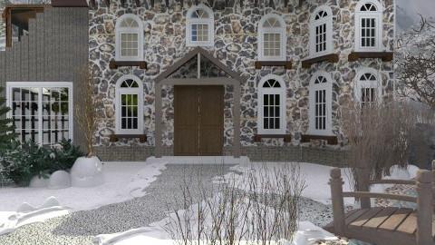 Alpine Interlude - Rustic - Garden  - by cheerprincess63