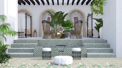 Moroccan garden - Garden  - by Lizzy0715