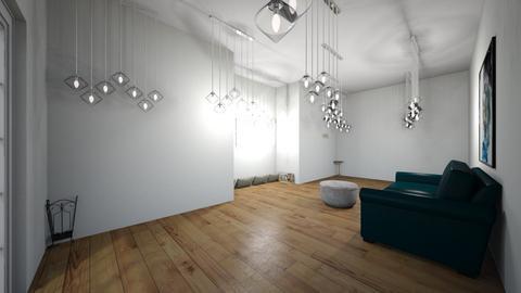 rainy day living room - Living room  - by fox girl