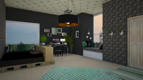 Student dorm example ps - Minimal - Bedroom  - by Pheebs09