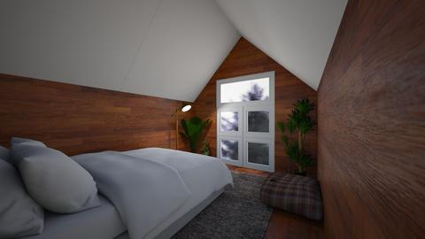 SimpleCabinCozyAesthetics - Minimal - Bedroom  - by jade1111