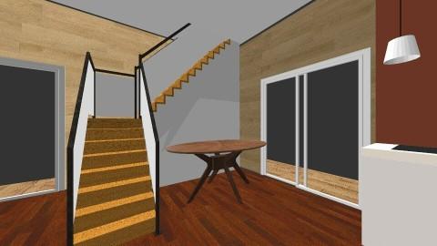 Log Cabin Mansion - Rustic - by khariyya2314
