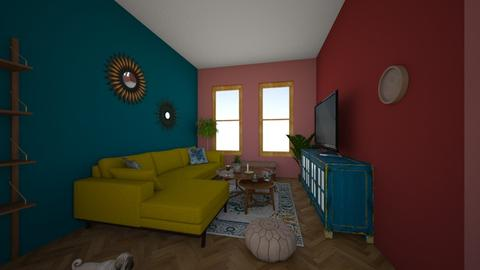 modern orient - Living room  - by Doctor Deco