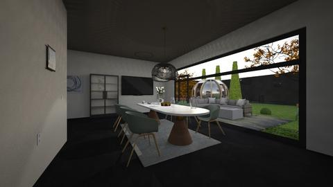 2025 Dining room - Dining room  - by JailCellDesigner