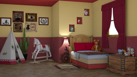 Wild West - Kids room  - by creato