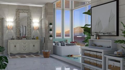 island bath - Bathroom  - by nat mi
