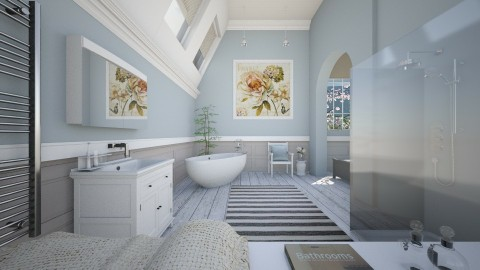Pastel Bathroom - Bathroom  - by hannahglass