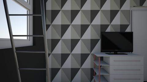 Arlos Room - Modern - Bedroom  - by TheArlo