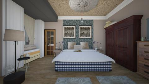 bedroom hasting - Vintage - Bedroom  - by Evangeline_The_Unicorn