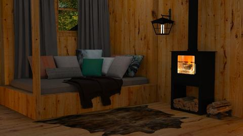 cabin - Living room  - by Gel Colbert