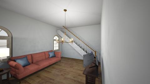 dream home - Living room  - by mangocookie