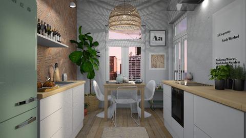 eclectic - Kitchen  - by siljaj