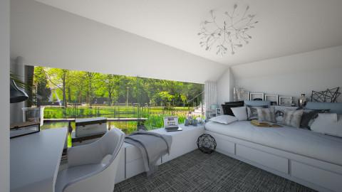 Parkside Bedroom - Modern - Bedroom  - by StienAerts