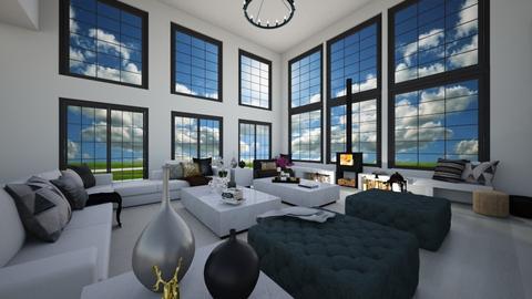 Modern corner - Living room  - by flacazarataca_1