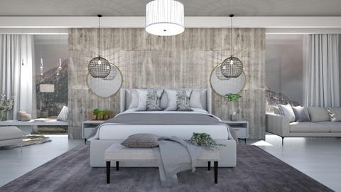 Stormy Day Bedroom Remix - Rustic - Bedroom  - by KittyKat28