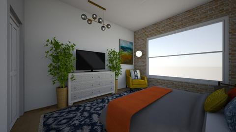 TOWNHOUSE - Bedroom  - by t harv