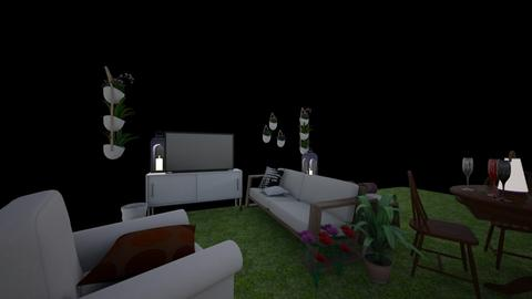 Outdoor Living Dining - Living room  - by TreeFun