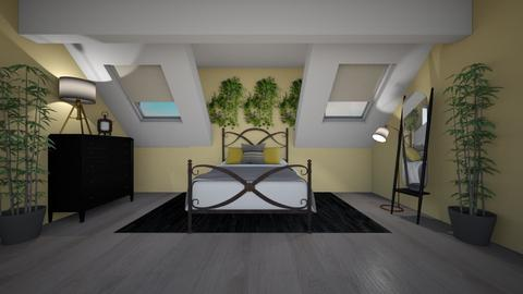 Modern Vintage Bedroom - Bedroom  - by Destiny H