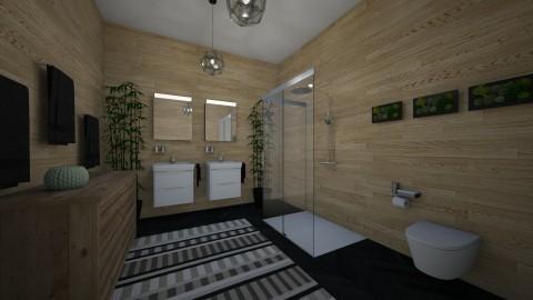 High End Bathroom - Retro - Bathroom  - by millerfam