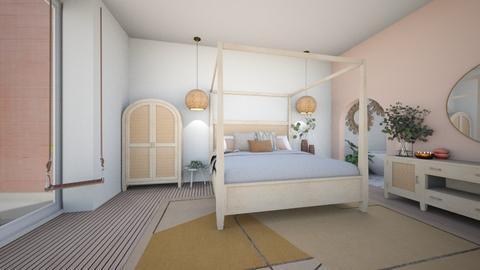 ORGANIC HOUSE P3 BEDROOM  - Bedroom  - by aestheticXdesigns