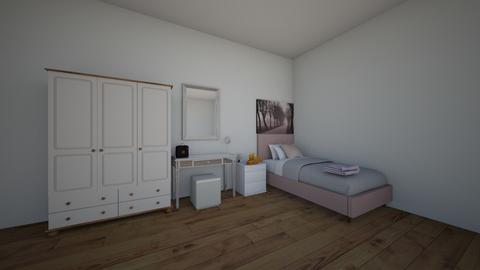 teen room - Bedroom  - by horseeve