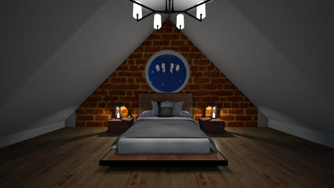 Attic room remix - Rustic - Bedroom  - by madaline