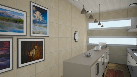 Earth color - Living room  - by Debora Cris