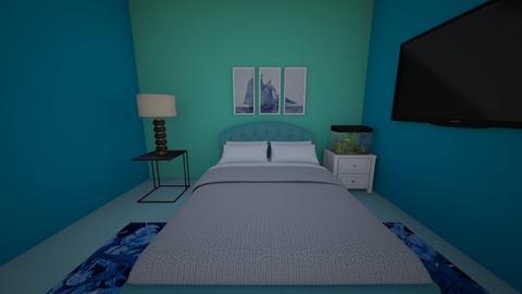 Guest Room 2 - Bedroom  - by Bunnykat124
