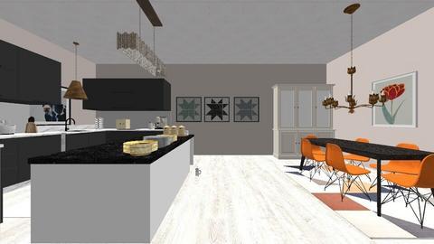 pol kitchen - Kitchen  - by marcellarouchardd