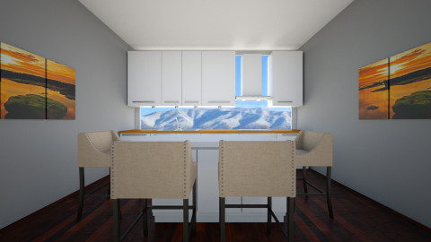 Dream Kitchen 1 - Modern - Kitchen - by meri_4life