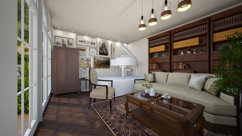 Antique with modern twist - Living room - by niquiche